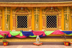 Wat Si Muang or Simuong is a Buddhist temple located in Vientiane, the capital of Laos Royalty Free Stock Photography