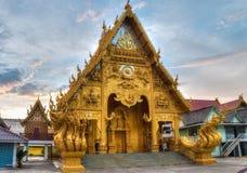 Wat Si Pan Ton nella città di Nan, Tailandia Fotografie Stock Libere da Diritti