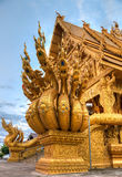 Wat Si Pan Ton nella città di Nan, Tailandia Immagine Stock Libera da Diritti