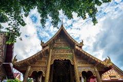 Wat Si Ping Mueng, Chiang Mai, Tailândia Fotografia de Stock Royalty Free