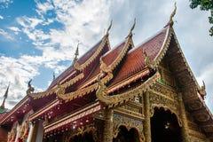 Wat Si Ping Mueng, Chiang Mai, Tailândia Fotos de Stock