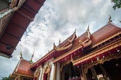 Wat Si Ping Mueng Chiang Mai, Thailand Arkivbild