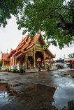 Wat Si Ping Mueng Chiang Mai, Thailand Arkivbilder