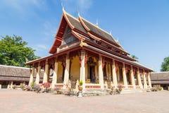 Wat Si Saket à Vientiane Laos Photographie stock