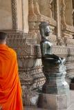 Wat Si Saket Buddha - Vientiane Arkivbilder