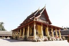Wat Si Saket, Buddish temple in Vientiane Laos Royalty Free Stock Image