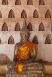 Wat Si Saket-Tempel Lizenzfreie Stockfotos