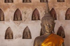 Wat Si Saket-Tempel Stockfotos