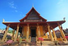 Wat Si Saket, tempio di Si Saket Fotografia Stock Libera da Diritti