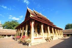 Wat Si Saket, tempio di Si Saket Fotografia Stock
