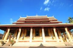 Wat Si Saket, tempio di Si Saket Immagine Stock
