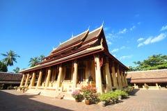 Wat Si Saket a Vientiane Fotografie Stock