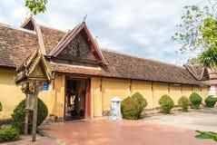 Wat Si Saket Vientiane, Laos Royaltyfria Bilder