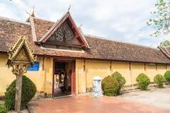 Wat Si Saket Vientiane, Laos Arkivfoton
