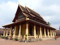 Wat Si Saket Vientiane, Laos Royaltyfri Foto