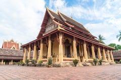 Wat Si Saket Vientiane, Laos Royaltyfri Bild