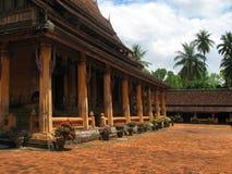 Wat Si Saket in Vientiane Stock Image