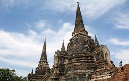 wat si sanphet phra ayutthaya Стоковая Фотография