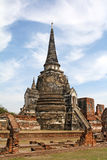 wat si sanphet phra ayutthaya Стоковая Фотография RF