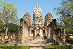 Wat Si Sawai. Sukhothai Historical Park in Thailand Royalty Free Stock Image