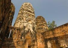 Wat Si Sawai bij het Historische Park van Sukhothai, Thailand Royalty-vrije Stock Foto's