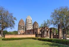 Wat Si Sawai, historischer Park Shukhothai Lizenzfreies Stockbild