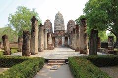 Wat Si Sawai, Sukhothai Dziejowy park, Tajlandia zdjęcie stock