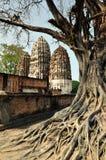 Wat Si Sawei in Sukothai Thailand Royalty Free Stock Image