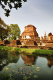 Wat Si Sawei in Sukothai Thailand Stock Images