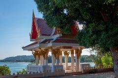 Wat Sila Ngu, Hua Thanon, Koh Samui, Tailandia Imagen de archivo
