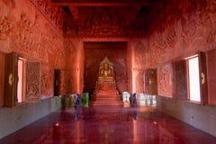 Wat Sila Ngu, Hua Thanon, Koh Samui, Tailandia Imagenes de archivo