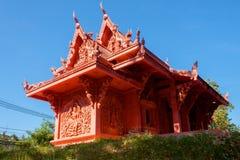 Wat Sila Ngu, Hua Thanon, Koh Samui, Thailand Lizenzfreie Stockfotografie