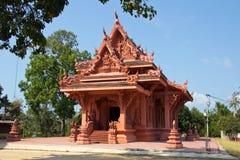 Wat Sila Ngu, Snake Temple Stock Image