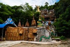 Wat Simalai Songtham chez Kao Yai, Korat Photos stock