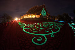 Wat Sirindhorn Wararam Phu Prao temple in Northeast of Thailand. Stock Photography