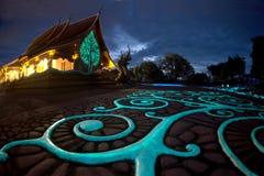 Wat Sirindhorn Wararam Phu Prao temple in Northeast of Thailand. Stock Photo