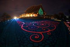 Wat Sirindhorn Wararam Phu Prao temple in Northeast of Thailand. Royalty Free Stock Images