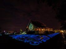 Wat Sirindhorn Wararam Ubonratchathani thailand arkivfoto