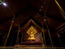 Wat Sirindhorn Wararam Ubonratchathani thailand arkivbild