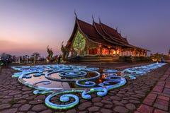 Wat Sirindhornwararam Phu Prao Temple, Ubon Ratchathani, Thail Stock Photography