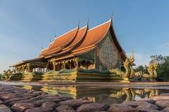 Wat sirinthorn phu praw Royalty Free Stock Images