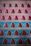 Wat Sisaket - uno de los templos famosos de Vientián con las esculturas de millares de buddhas fotografía de archivo