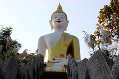 Wat slang. Big Buddha Temple and wonderful slang Royalty Free Stock Photo