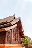 Wat Somdej Phu Ruea Ming Muang - de nieuwe tempel in Thailand royalty-vrije stock fotografie