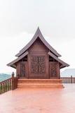 Wat Somdej Phu Ruea Ming Muang - de nieuwe tempel in Thailand royalty-vrije stock foto
