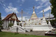 Wat Songtham Worawihan σε Amphoe Phra Pradaeng σε Samut Prakan, Ταϊλάνδη Στοκ Φωτογραφία