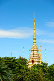 Wat Sorapong public temple in Thailand  treasure of Buddhism Landmark Royalty Free Stock Image