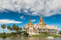 Wat Sorapong public temple in Thailand  treasure of Buddhism Landmark Stock Images