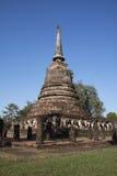 Wat Sorasak. Thailand, Sukhothai Historical Park, Wat Sorasak or Elephant Temple Stock Photography