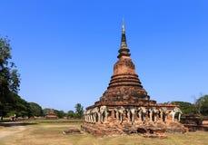 Wat Sorasak, historischer Park Shukhothai Lizenzfreies Stockbild